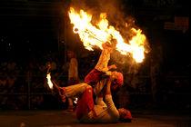 Fire Dancing 1 by Hemantha Arunasiri