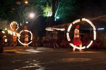 Fire Dancing 2 by Hemantha Arunasiri