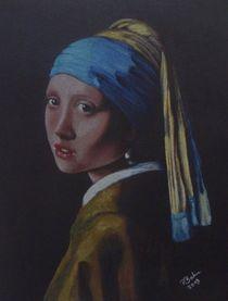 Das Mädchen mit dem Perlenohrgehänge von Peter Bahn