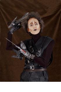 Karin Spaink as Edward Scissorhands von Harald Seiwert