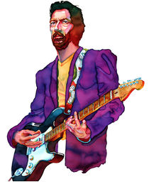 ERIC CLAPTON by Jim Doody