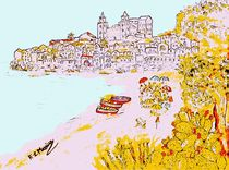 Summer time in Cefalu' von loredana messina
