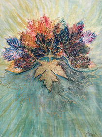 Herbstlaub (bouquet of foliage) by Dagmar Laimgruber