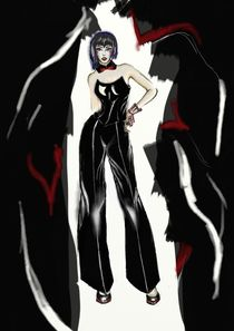 Vampire fashion by Nadezhda Petrova