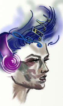 Music in my head by Nadezhda Petrova