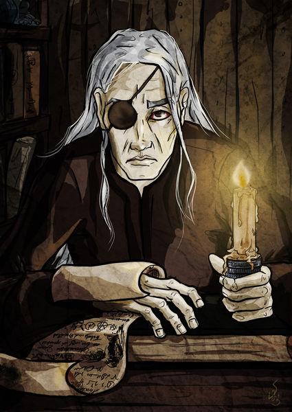 Der Meister Benutzt Eine Kerze Auf Seinem Sklaven