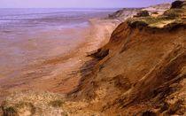 Rotes Kliff von Ulrike Ilse Brück