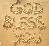 GOD BLESS YOU / GOTT SEGNE DICH von Sandra Yegiazaryan