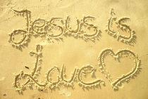 JESUS IS LOVE / JESUS IST LIEBE by Sandra Yegiazaryan