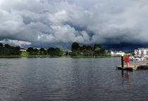 The View From The Round O Jetty At Enniskillen by John McCoubrey