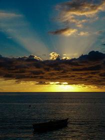 Sunset Soufriere von Inez Wijker