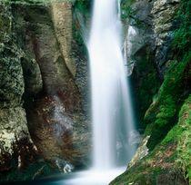 Waterfall gushing over rocks von Intensivelight Panorama-Edition