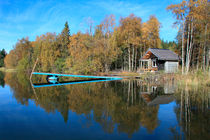 Autumn lake von Intensivelight Panorama-Edition