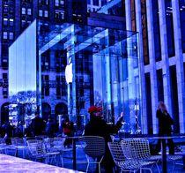 APPLE STORE IN NYC by Maks Erlikh