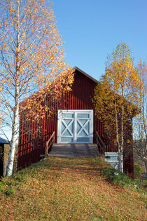 Barn in autumn by Intensivelight Panorama-Edition
