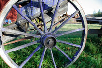 Blue coach-wheel von Intensivelight Panorama-Edition