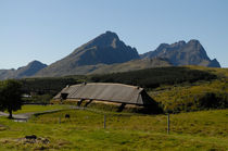 Viking longhouse on Lofoten by Intensivelight Panorama-Edition