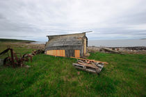 Shed at the Barents sea by Intensivelight Panorama-Edition