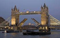 Tower Bridge Rasied von tgigreeny