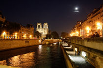 Seine and Notre Dame in Paris von Freddy Olsson