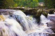 Falls of Dochart by Mark Llewellyn