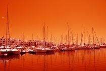 Yachthafen  von Violetta Honkisz
