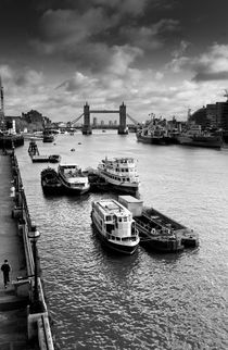 River Thames view von David Pyatt