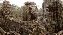 Bayonface, Cambodia, Angkor Wat von reisemonster