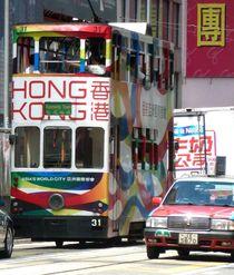 Tram vs Taxi von reisemonster