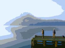 Fishing at Balmaha, Loch Lomond von Iain Clark