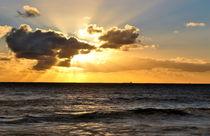 Sea Sunset by Herman Stadler