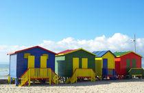 Muizenberg Beach Huts von Herman Stadler