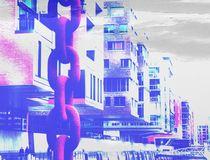 Hafencity mal etwas bunter von Peter Norden