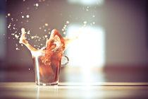 sonniger kaffee splash von Thomas Schaller