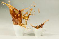 Kaffee Espresso Splash von Thomas Schaller
