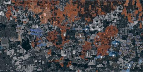 Stadt-abstrakt