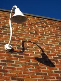 White Lamp With A Dark Secret von Guy  Ricketts