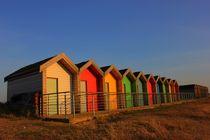 Blyth Beach Huts Deep von Dan Davidson