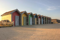 Beach Huts of Blyth by Dan Davidson