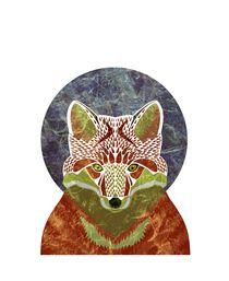 fox von Magdalena Toczydlowska-Talarczyk
