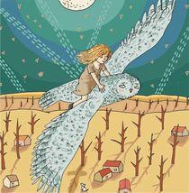 night fly von Magdalena Toczydlowska-Talarczyk