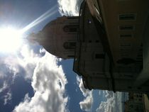 Sun above the Pantheon of Lisbon von Jenny Pfau
