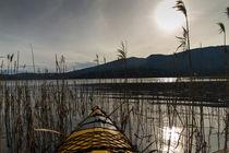 kayaking on lake Cerknica by NINA PETERKA