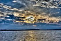 Sunset HDR von Stanislaw Pietrakowski