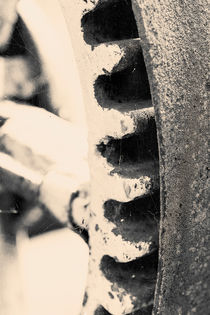Old cogwheel by Lars Hallstrom