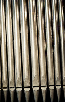 Organ pipes by Lars Hallstrom