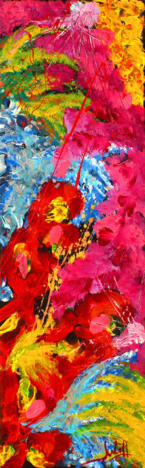 Floral Abstract 1 von Julia Fine Art