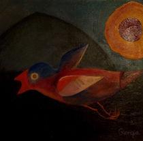 Vogel auf der Flucht von giorgia
