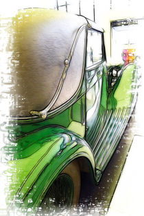 Bentley Car by Fiona Messenger