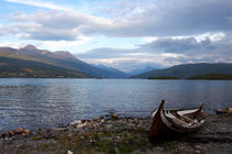 Wooden rowing boat by Intensivelight Panorama-Edition